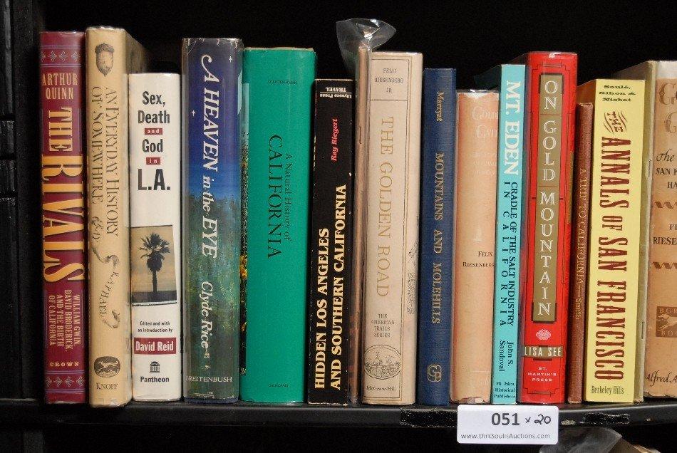 LOT OF 20 BOOKS ON CALIFORNIA