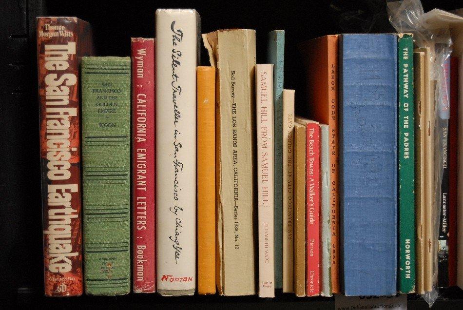 LOT OF 36 BOOKS ON CALIFORNIA