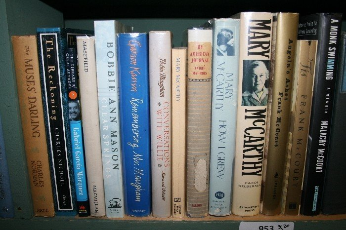 LOT OF 20 LITERARY BIOGRAPHY, ALPHA BY SUBJECT