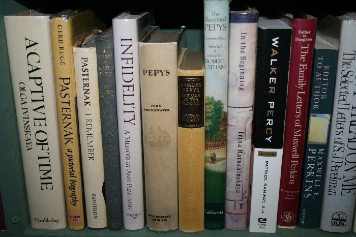 LOT OF 21 LITERARY BIOGRAPHY, ALPHA BY SUBJECT