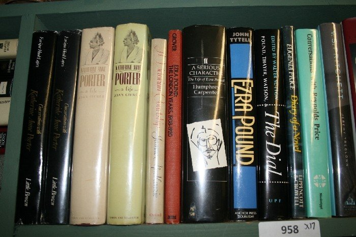 LOT OF 17 LITERARY BIOGRAPHY, ALPHA BY SUBJECT