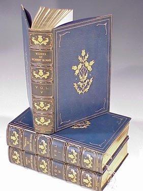 1001: WORKS OF ROBERT BURNS, 6 VOLUMES (COMPL