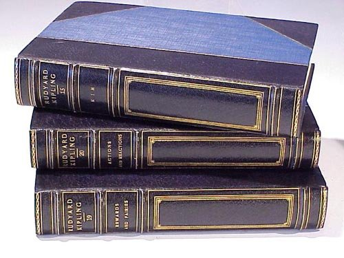 1004: Works of Rudyard Kipling signed by auth