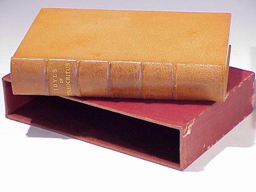 1011: Theocritus, IDYLS