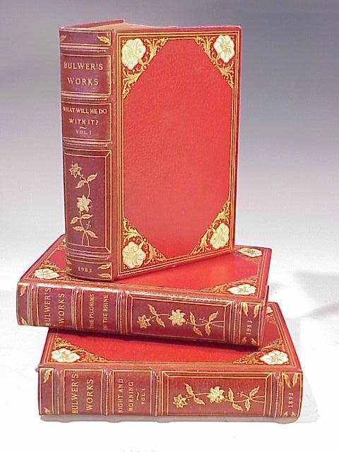 1064: Edw. Bulwer Lytton Works