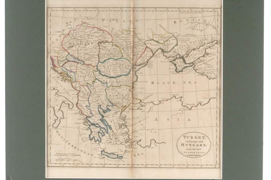 TWO 19TH CENTURY MAPS OF TURKEY AND REGION