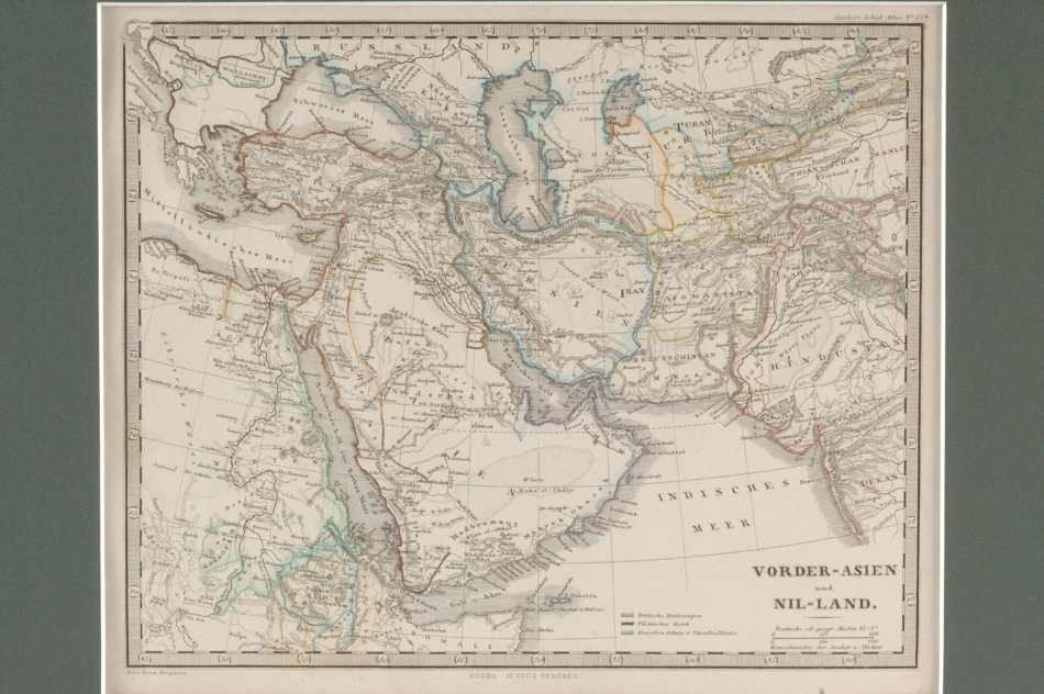 THREE 19TH CENTURY MAPS OF THE MIDDLE EAST AND TURKEY