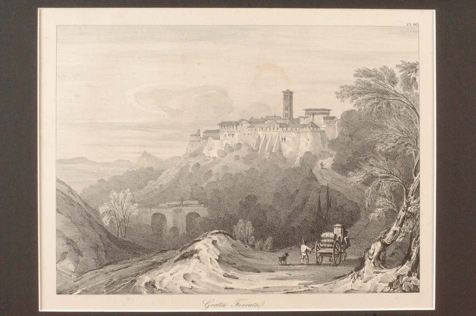 TWO WILLIAM LINTON LITHOGRAPHS, 19TH CENTURY