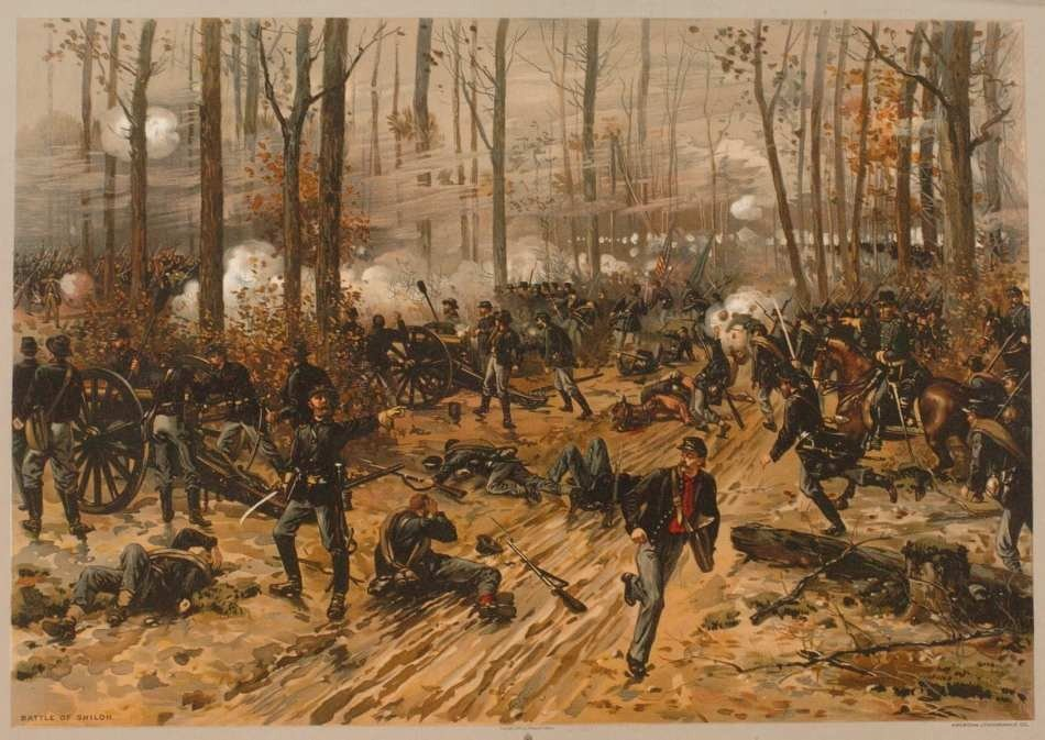 TWO 19TH CENTURY CIVIL WAR THEMED LITHOGRAPHS