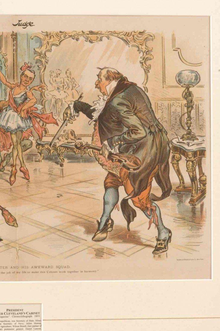 FOUR 19TH CENTURY POLITICAL CARTOONS - 3