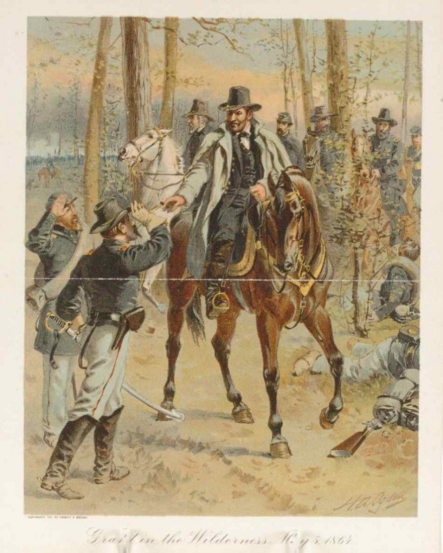 ARCHIVE OF EIGHT CIVIL WAR-RELATED LITHOGRAPHS AND PRIN