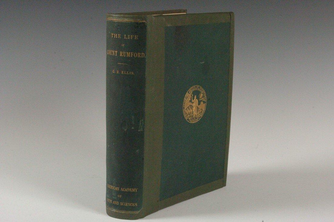 Ellis, G.E., Memoir of Sir Benjamin Thompson, 1871, Sig