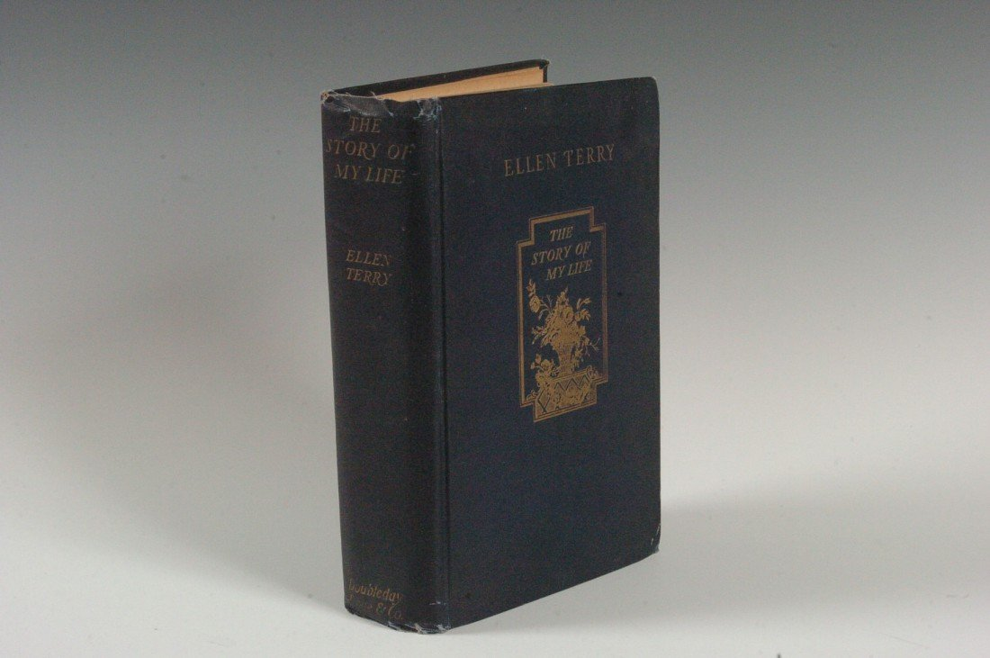Terry, Ellen, 'The Story of My Life' 1909, Autographed