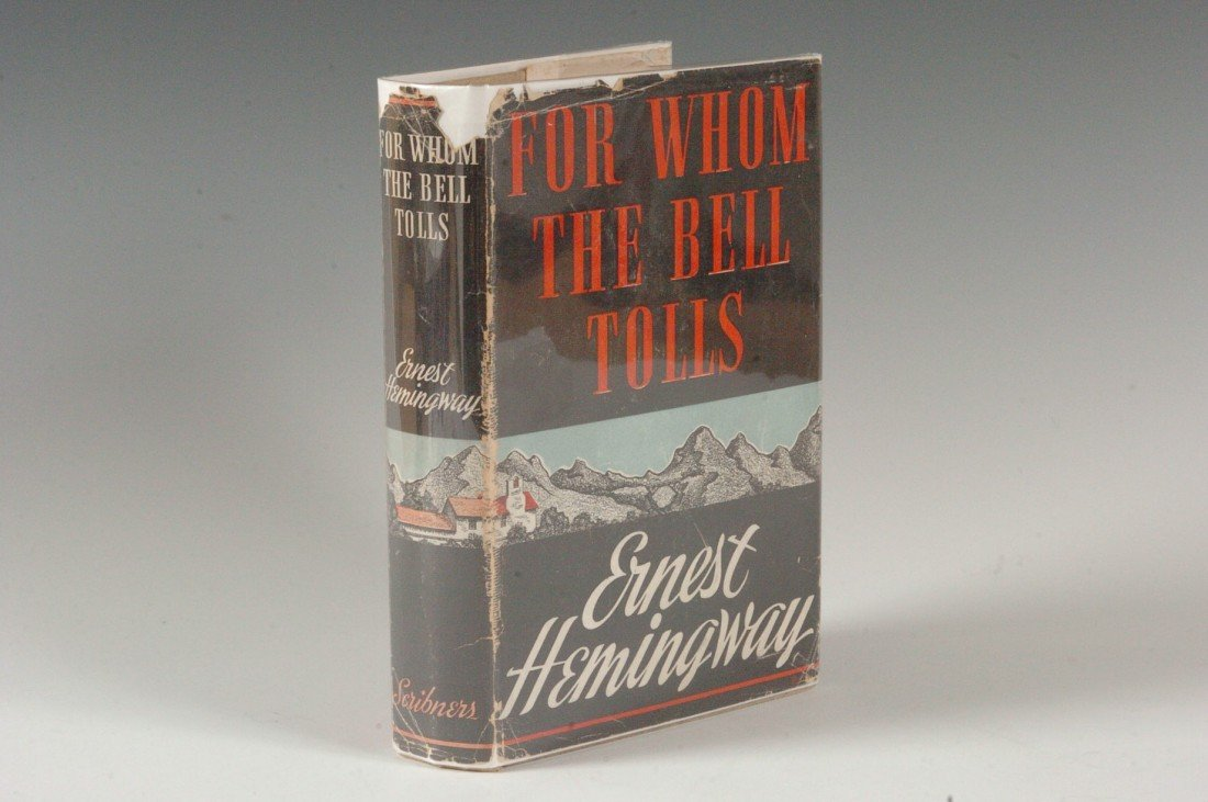 Hemingway, Ernest 'For Whom the Bell Tolls' 1940 A 1st