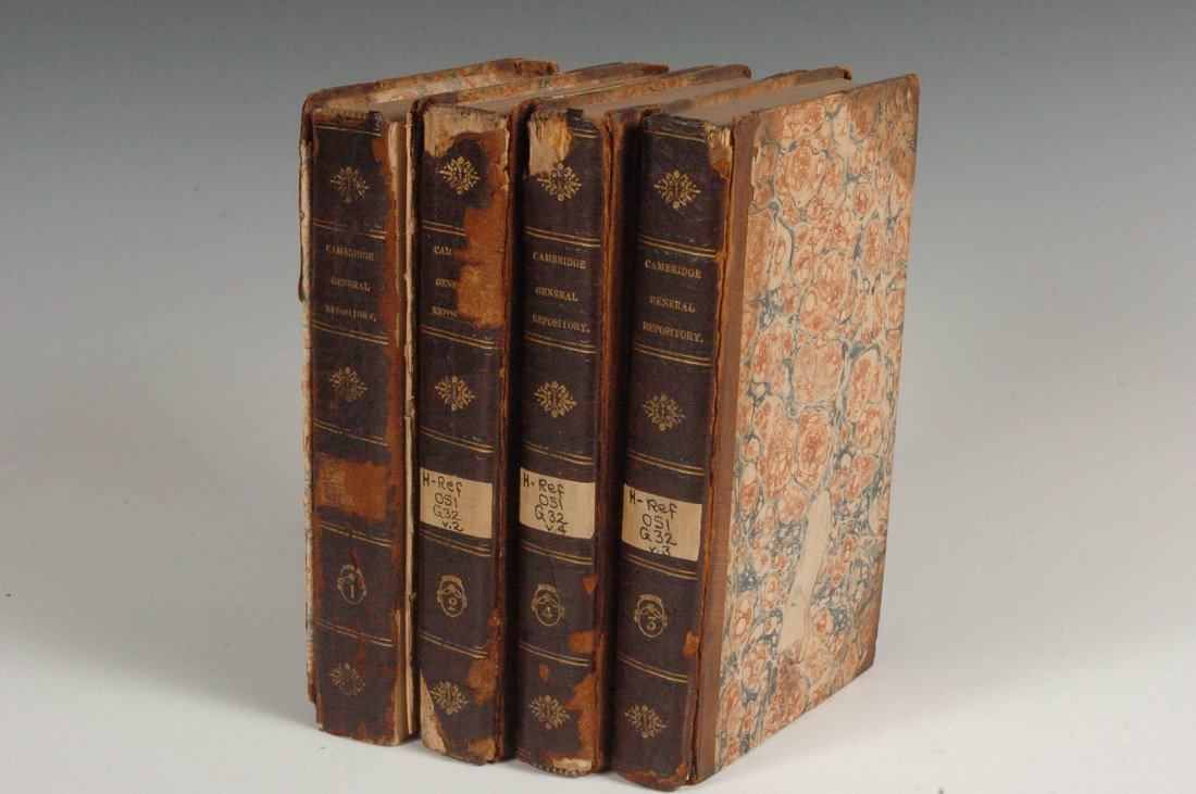 Cambridge General Repository and Review, 4 Vols., 1812