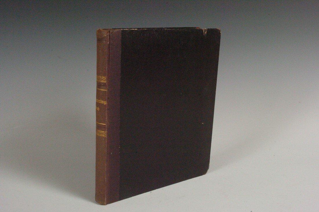 Berge F., Schmetteringsbuch, 1851 Butterfly Guide