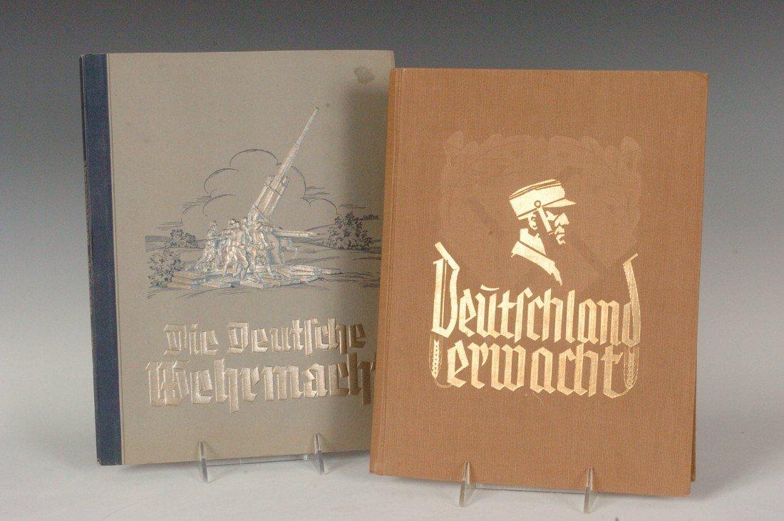 Third Reich Political and Military Cigarette Card Album