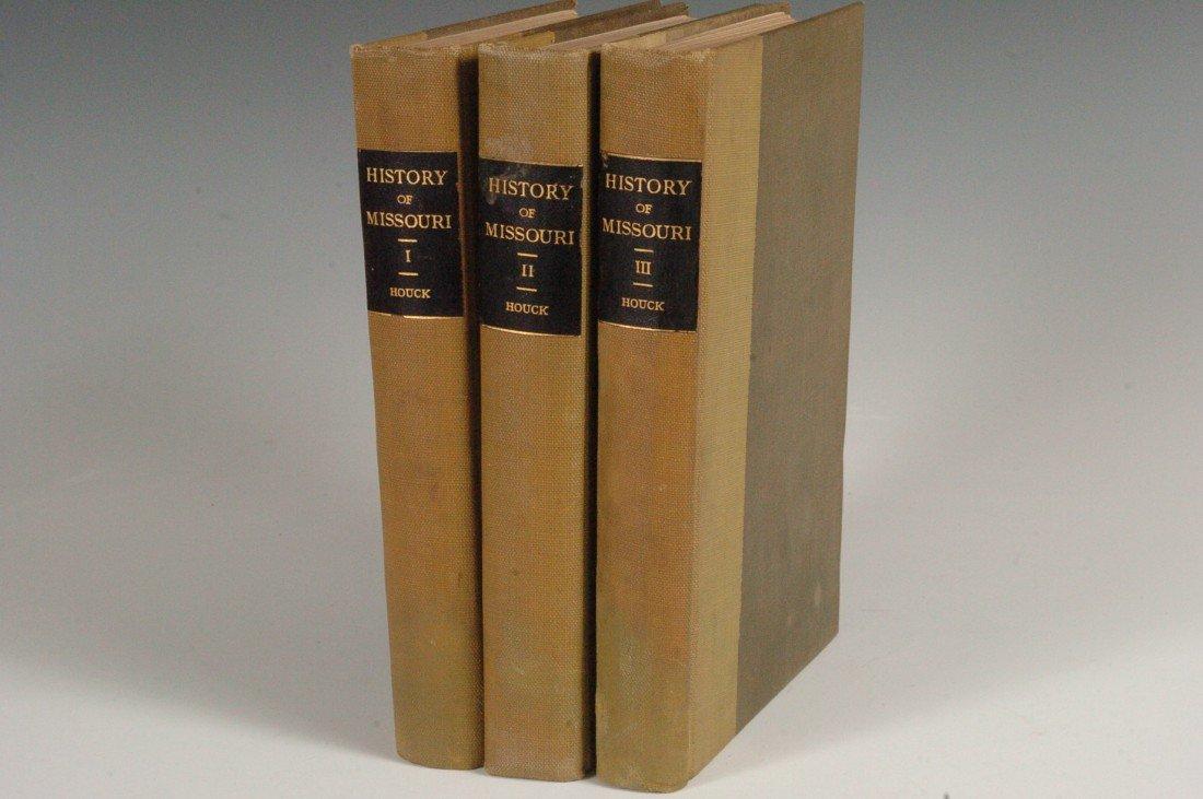 Houck, Louis, A History of Missouri, Three Vols., 1908