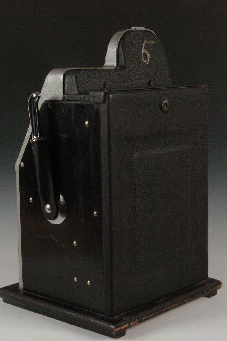MILLS BLACK CHERRY 25 CENT SLOT MACHINE, ORIGINAL & NIC - 8