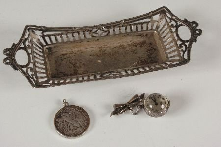 LOT OF ESTATE SILVER ITEMS
