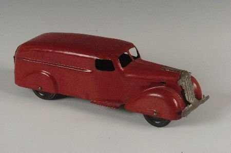 1930's PRESSED STEEL 'CITY DELIVERY' TOY TRUCK