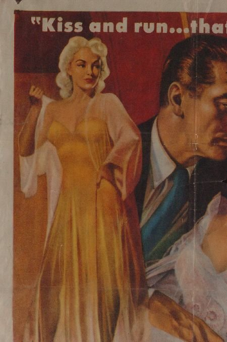 AFFAIR WITH A STRANGER 1953 MOVIE POSTER - 2