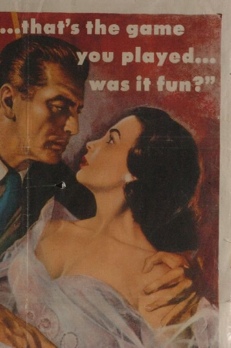 AFFAIR WITH A STRANGER 1953 MOVIE POSTER - 3