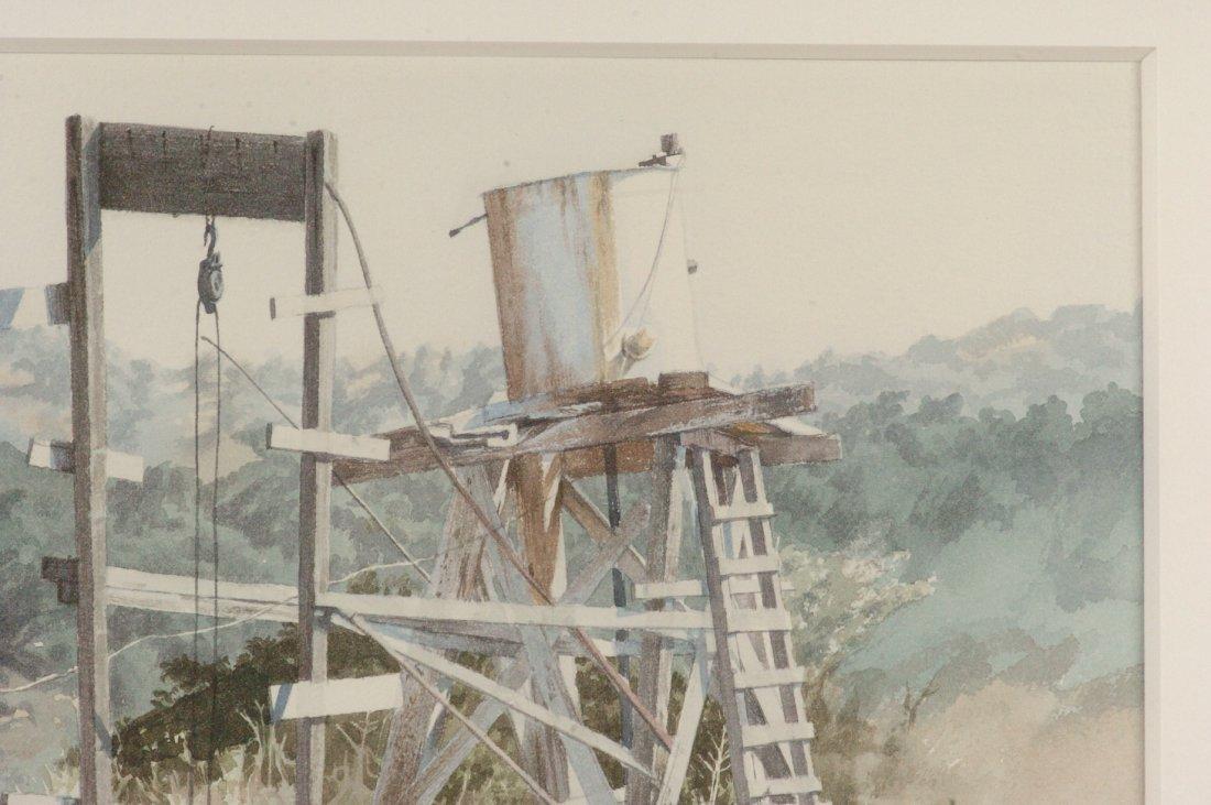 1972 CALIFORNIA WATERCOLOR SIGNED J. JOHNSON - 3