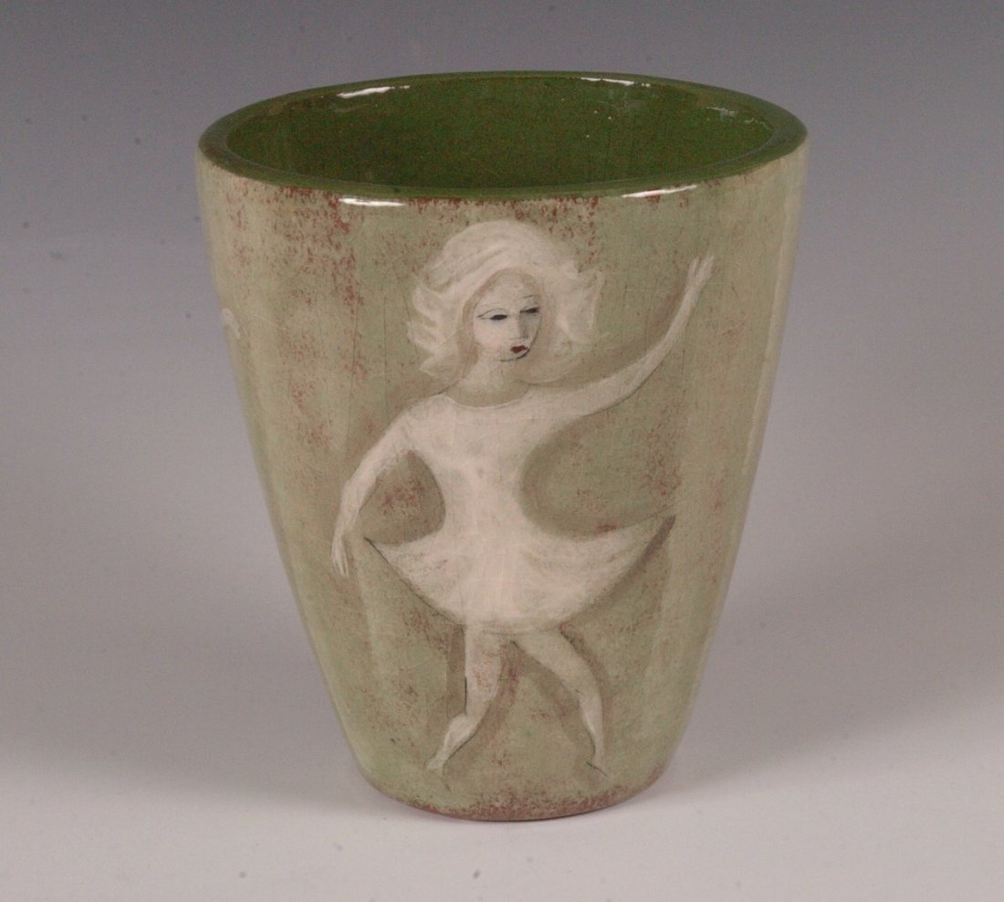 POILA PILLIN (1909 - 1992) ART POTTERY VASE