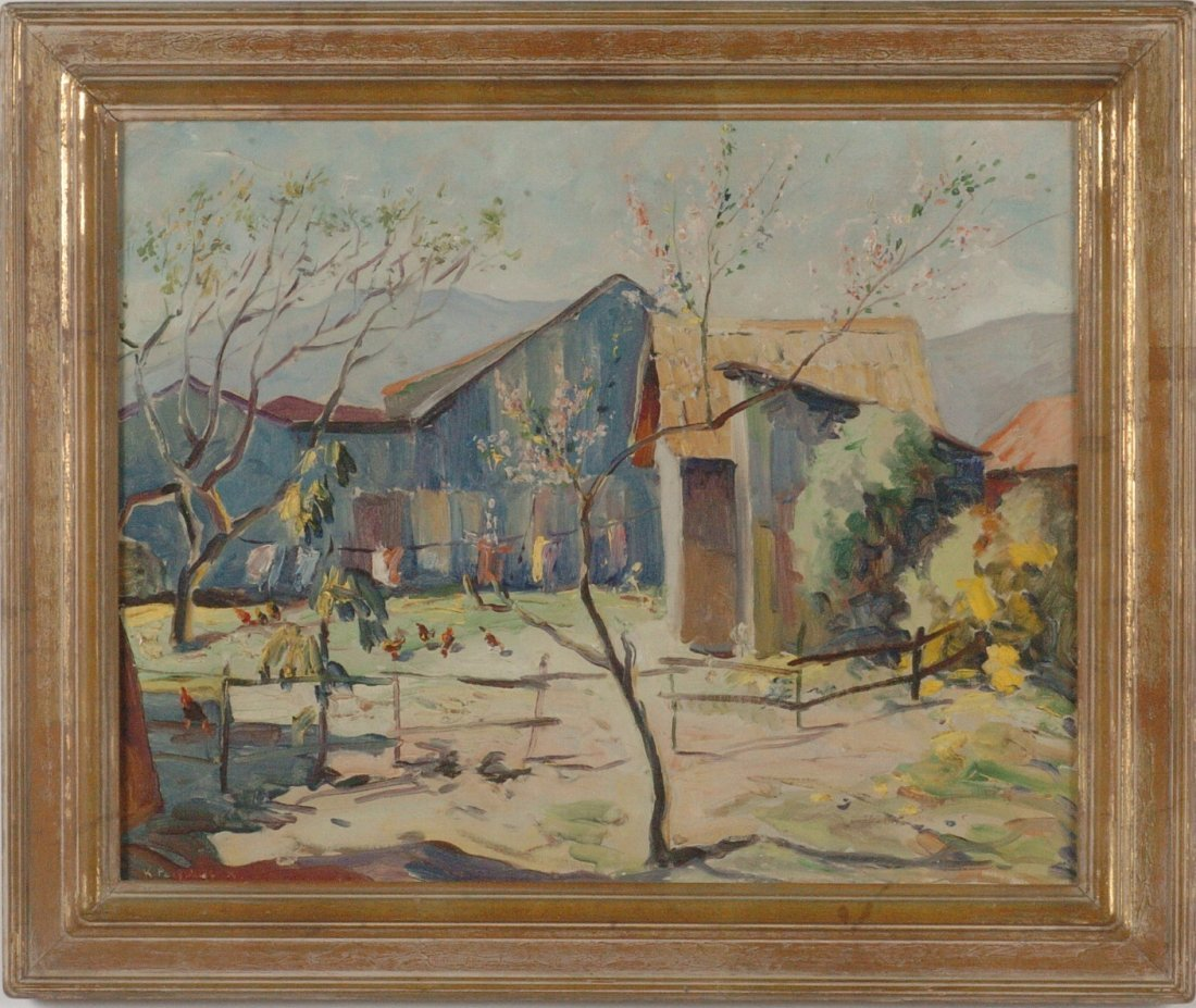 VLADIMIR PERFILIEFF (1895 -1943 ) OIL ON CANVAS