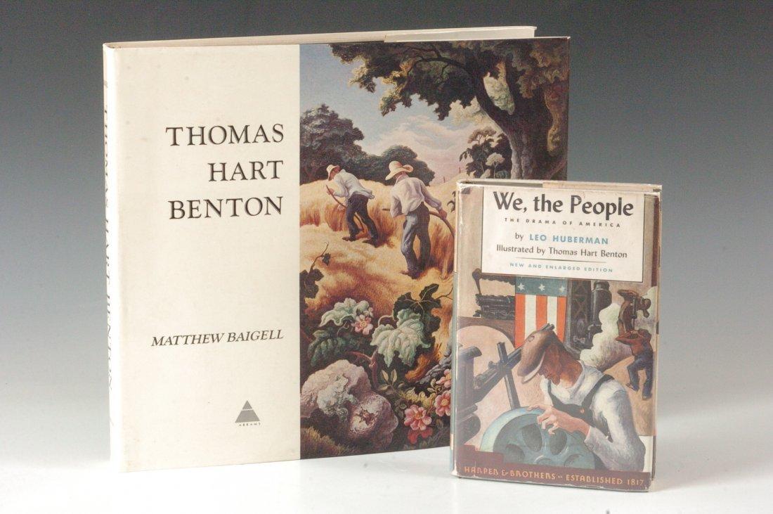 Baigell, Matthew, Thomas Hart Benton, Signed by Benton