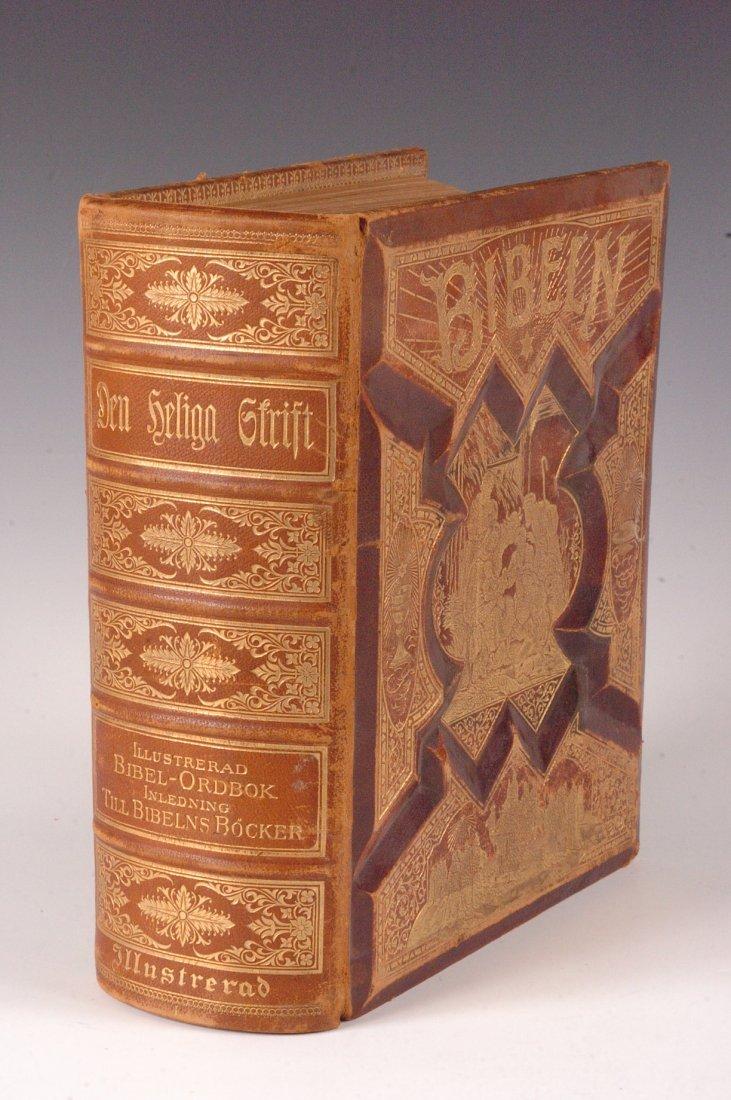 Swedish Bible 'Den Heliga Skrift,' US Edition, 1889