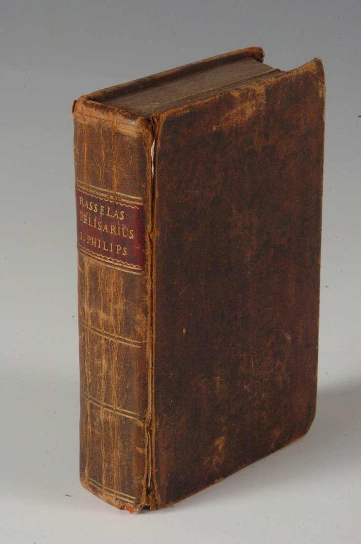 Dr Johnson, Rasselas, 1806, Leather Bound