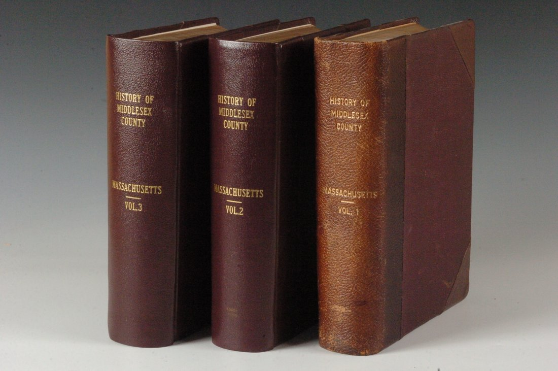 Hurd, D.H., History of Middlesex County, Ma., 1890, 3 V