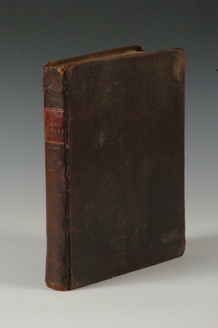 Church of England Book of Common Prayer, 1796