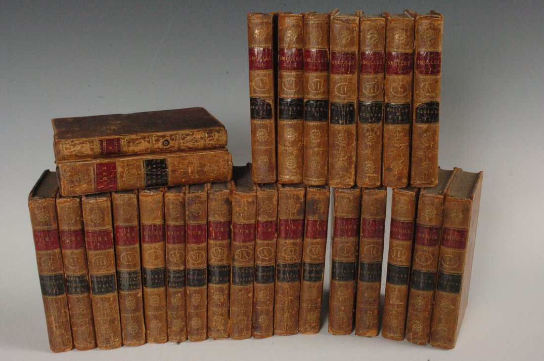 26 Volumes of Smollet's Hume's History of England