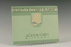Results Of County Planning, Jackson County, Missouri, 1