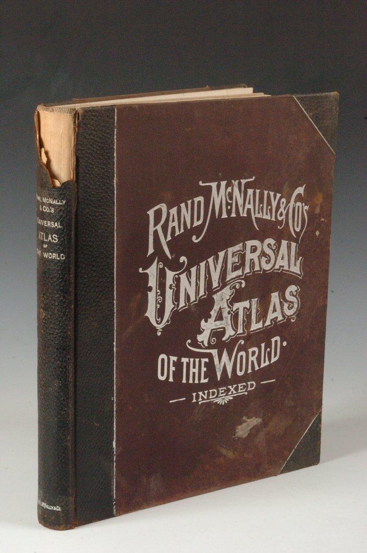 Rand, McNally Universal Atlas of the World, 1898