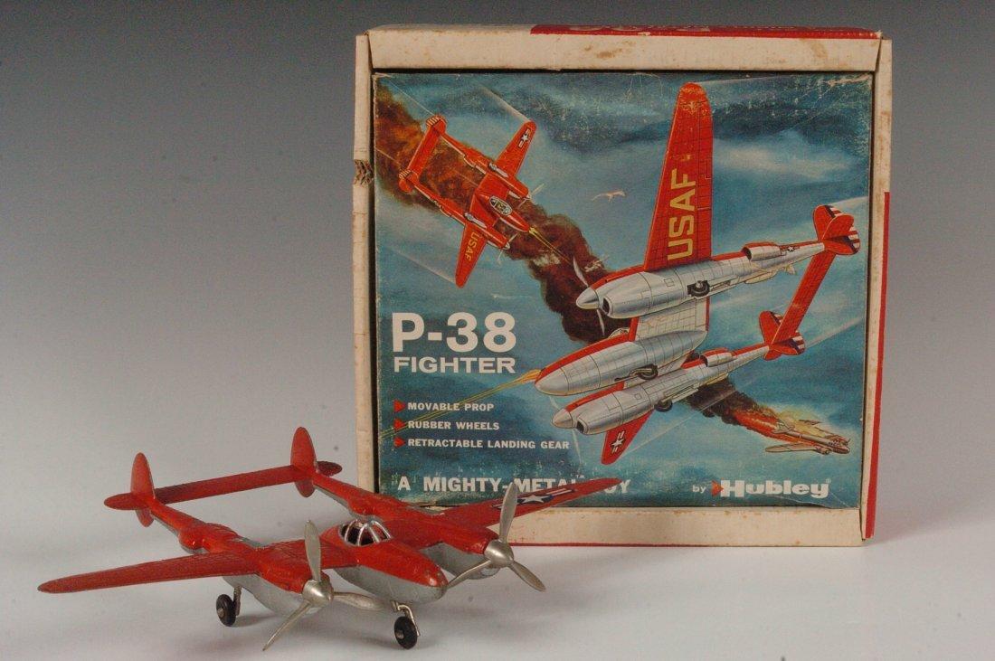 HUBLEY P-38 USAF FIGHTER #881 IN BOX