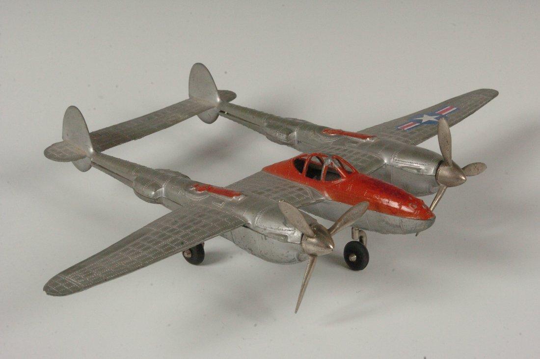 HUBLEY P-38 USAF FIGHTER #881