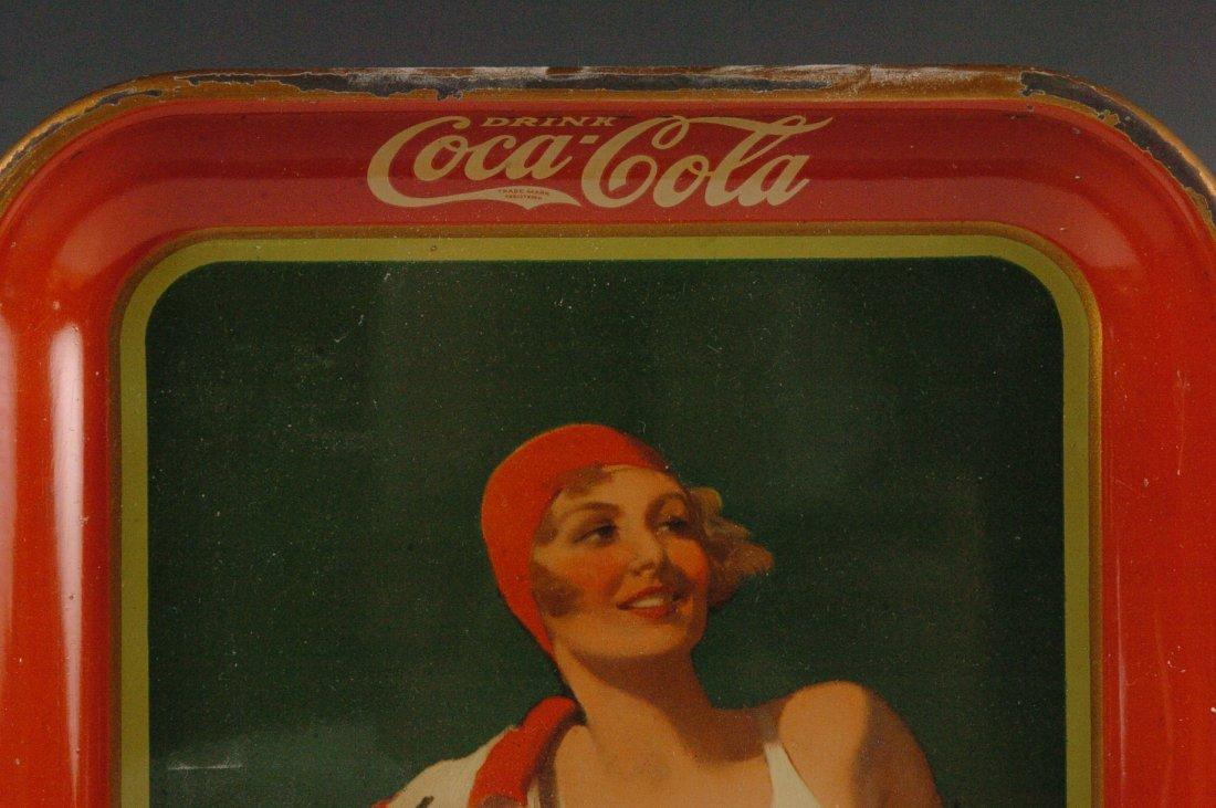 1937 COCA-COLA ADVERTISING SERVING TRAY - 10