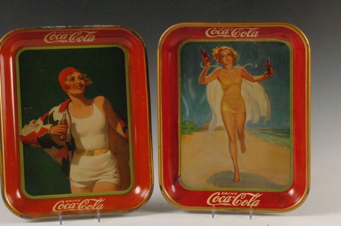 1937 COCA-COLA ADVERTISING SERVING TRAY