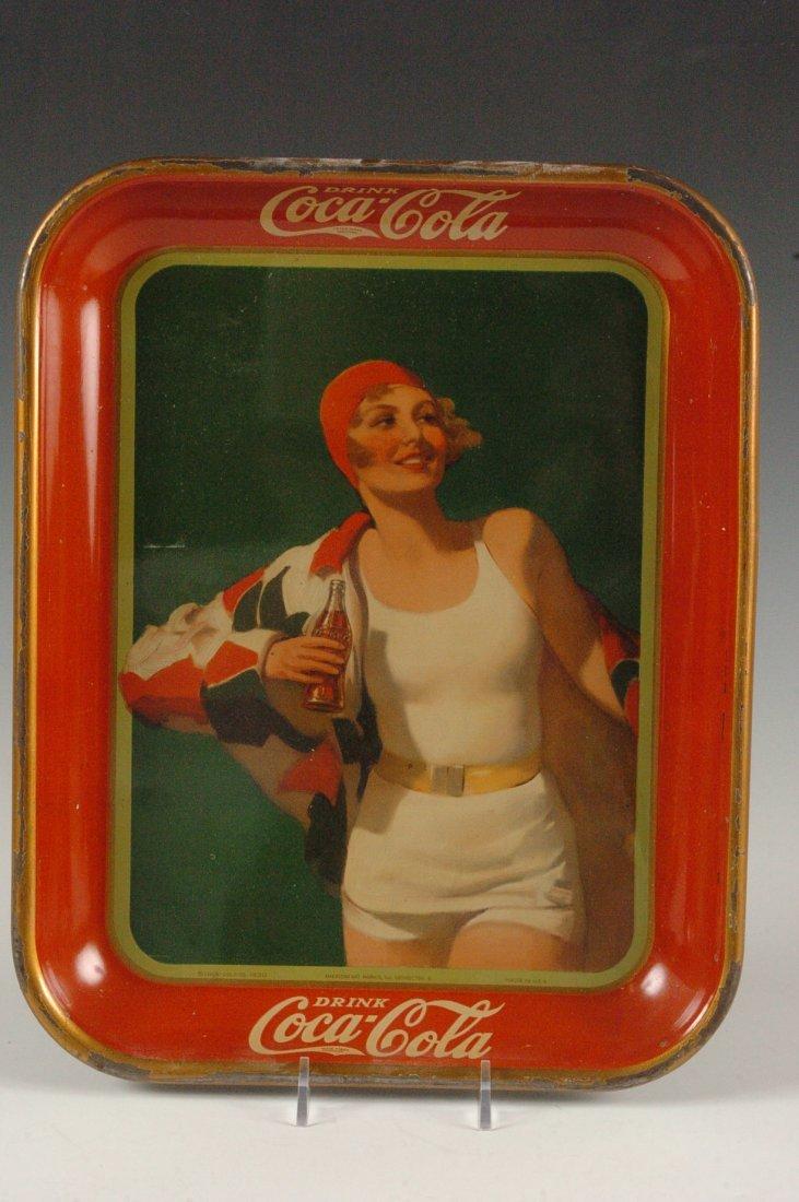 1937 COCA-COLA ADVERTISING SERVING TRAY - 9