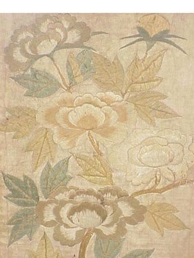124: Pair of Japanese embroidered fragments