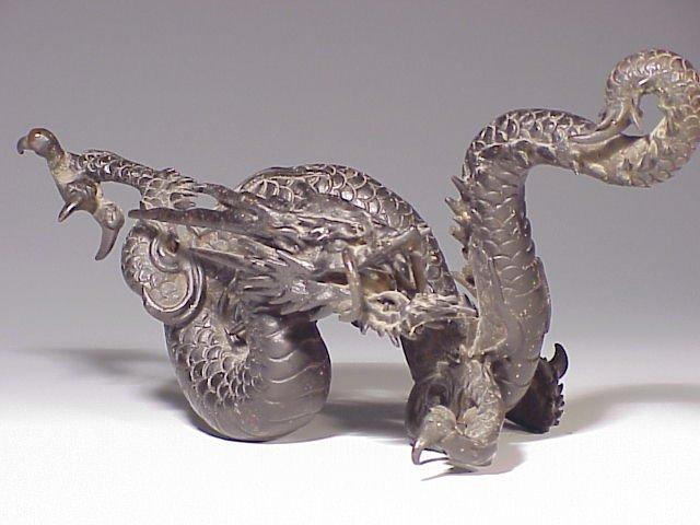 139: Chinese bronze dragon
