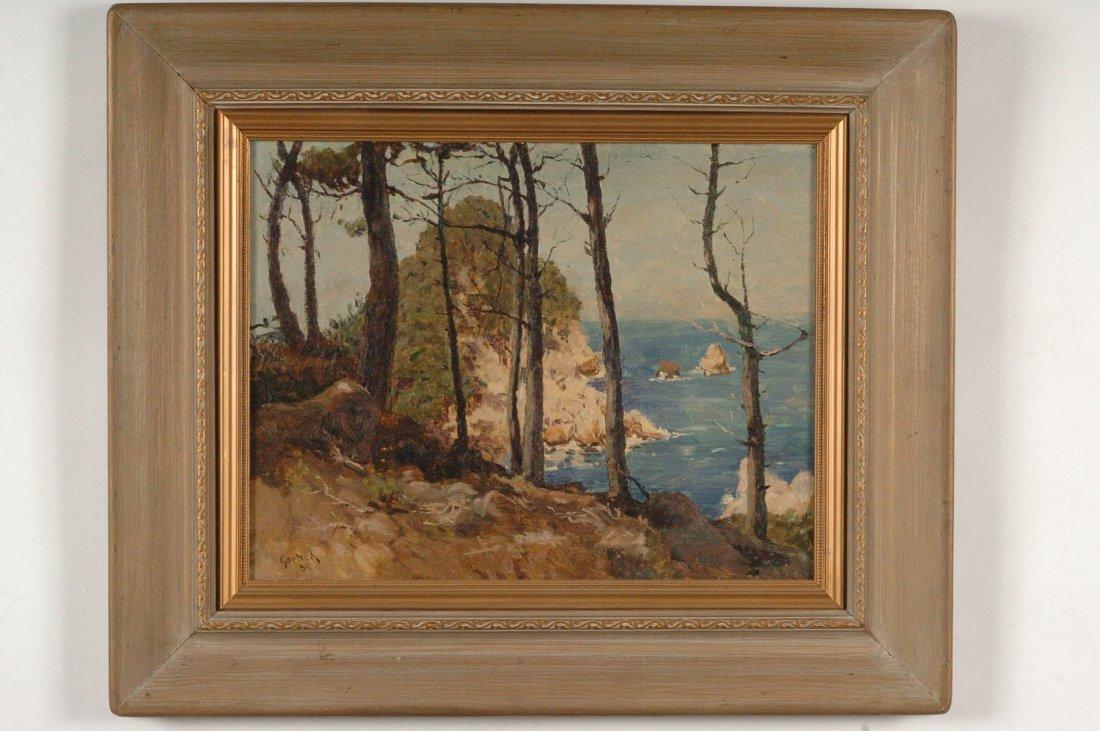 GUSTAV FREDERICK GOETSCH (1877-1969) CALIFORNIA ST. LOU