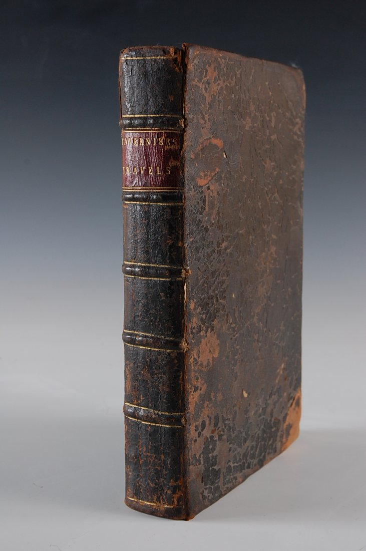 1678 BOOK Tavernier, John Baptista, 'The Six Voyages of