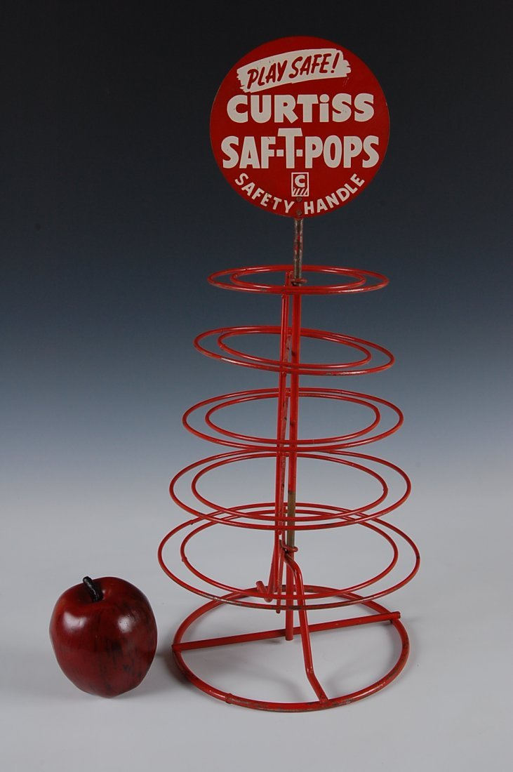 CURTISS SAF-T-POPS, DISPLAY RACK, CURTISS CANDY CO. - 2
