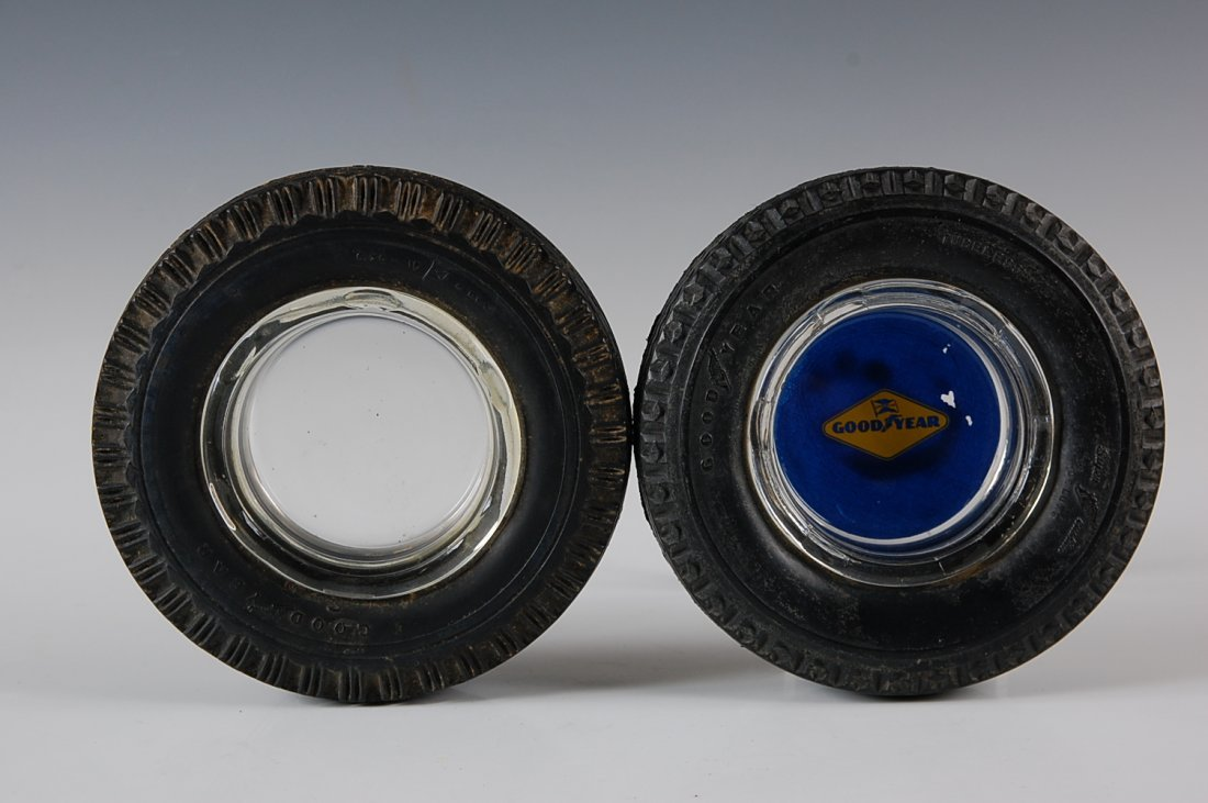 GOODYEAR TIRE ADVERTISING ASHTRAYS