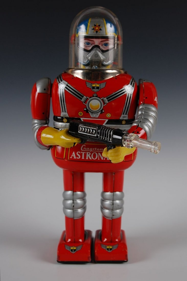 CRAGSTAN ASTRONAUT BATTERY OPERATED TOY ROBOT
